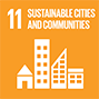 <h3>GOAL 11</h3> <p>Sustainable Cities and Communities</p>