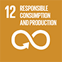 <h3>GOAL 12</h3> <p>Responsible Consumption and Production</p>