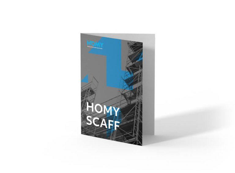 Ask for Homy Scaff brochure